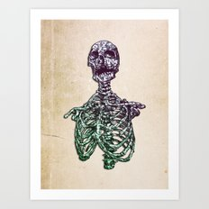 Inside out  Art Print