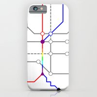 iPhone & iPod Case featuring taking different roads by not so popular