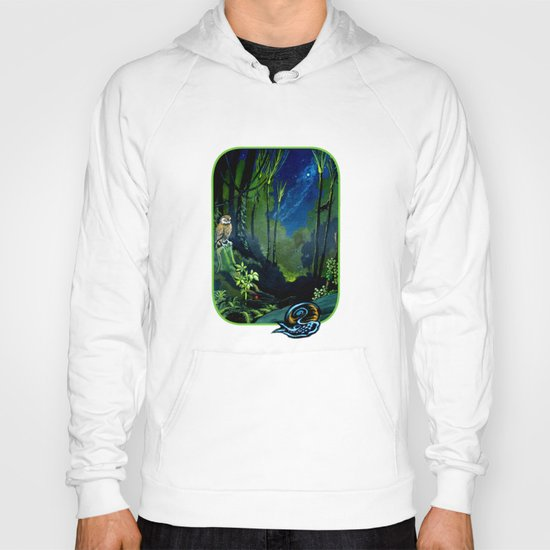 Silent Night in the New Zealand Forest Hoody