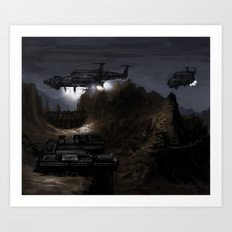 Home Base Art Print