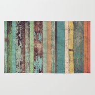 Rug featuring Wooden Vintage  by Patterns And Texture…