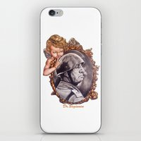 COME BACK OR LEAVE By Davy Wong iPhone & iPod Skin