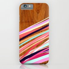 Wooden Waves Coral iPhone 6 Slim Case