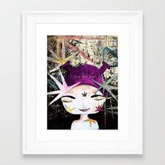 Solar Love Framed Art Print