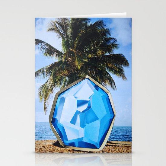 Blue Hawaiian Stationery Card