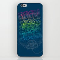 Boom Boom Boom iPhone & iPod Skin