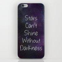 Stars Can't Shine Poster… iPhone & iPod Skin