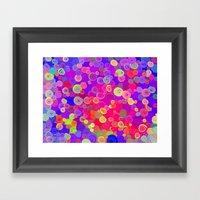 Buttonbox Framed Art Print