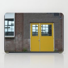 Yellow doors iPad Case