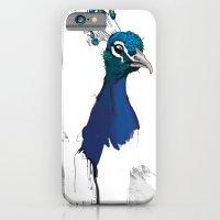 Peacock Head iPhone 6 Slim Case