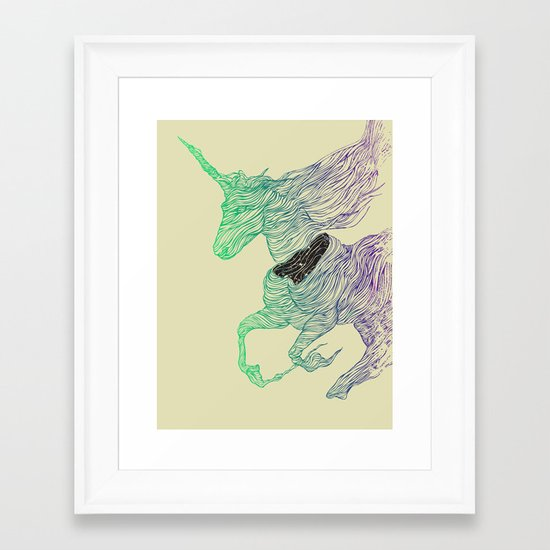 Dissolve  Framed Art Print