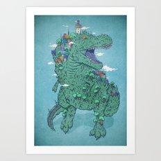 Las Peñas Art Print