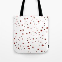 Ladybirds or Ladybugs Tote Bag