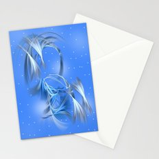 Snow Elves Stationery Cards