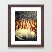 Dream Fumes Framed Art Print