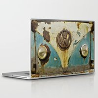 vw Laptop & iPad Skins featuring VW Rusty by Alice Gosling