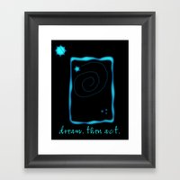 Messages To Myself 02 Framed Art Print