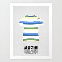 Abduction - Minimal Post… Art Print