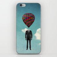 Balloon Man iPhone & iPod Skin