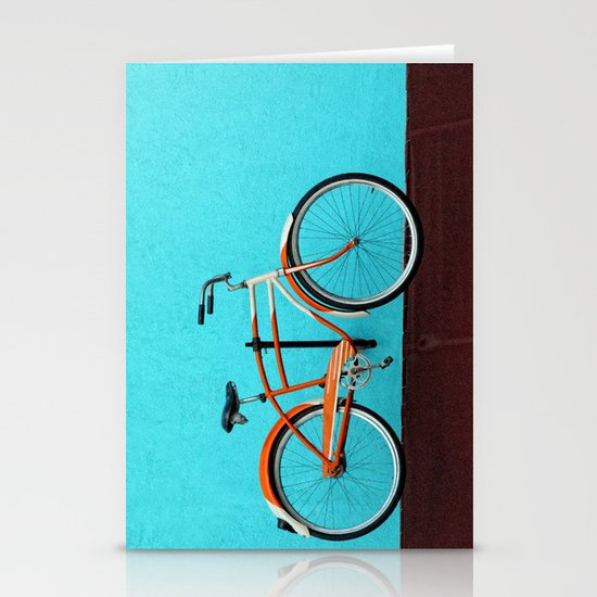 Oak Cliff Bicycle Stationery Card