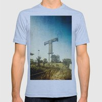 Texas T Mens Fitted Tee Athletic Blue SMALL