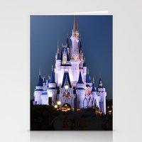 Cinderella's Castle II Stationery Cards