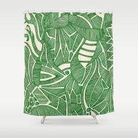 - green hope - Shower Curtain