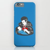 The Curious Case of a Baby Vampire iPhone 6 Slim Case