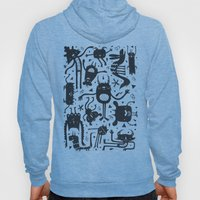 Topsy Turvy - Light Hoody