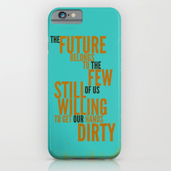 The Future Belongs to You iPhone & iPod Case