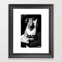Trust U. Trust Me. Framed Art Print