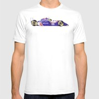 Senna Mens Fitted Tee White SMALL