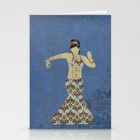 Belly dancer 4 Stationery Cards
