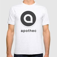 Apothec Identity 2012 Mens Fitted Tee Ash Grey SMALL