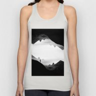Black Wasteland Isolatio… Unisex Tank Top