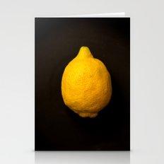 Yellow Lemon Stationery Cards