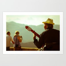 Guitara Art Print