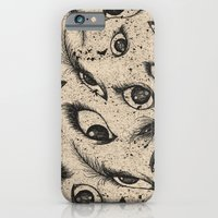 iPhone & iPod Case featuring Eyes  by Phoebe Dowdle