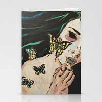 Metamorphosis II Stationery Cards