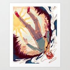 Quantum Uncertainty Art Print