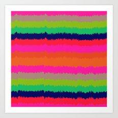 Eva stripe Art Print