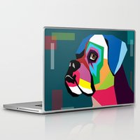 dog Laptop & iPad Skins featuring dog by mark ashkenazi