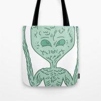 biological robotic avatar  Tote Bag