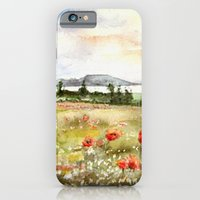 Poppies at the Lake Balaton iPhone 6 Slim Case