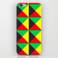 Vermeyden Pattern iPhone & iPod Skin