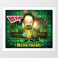 The Heisenberg concept! Art Print