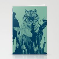Paint Tiger Stationery Cards