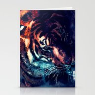 Tiger 2 Stationery Cards