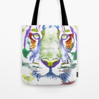 ROAR (tiger Color Versio… Tote Bag