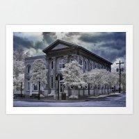Edenton Bank Art Print